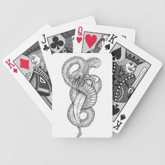 Bycicle Serpent mischt Bicycle Spielkarten