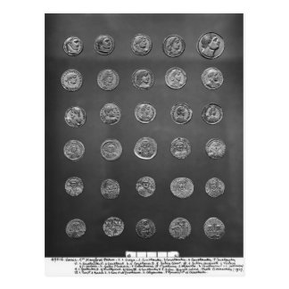 Byzantinische und römische Münzen, 04-1. Postkarte