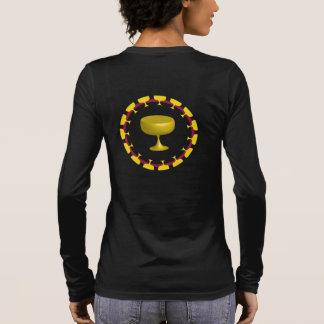 Byzantinisches Kreuz Langarm T-Shirt