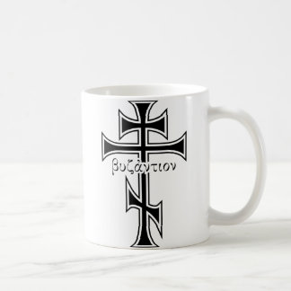 Byzantinisches Kreuz u. Eagle Tasse