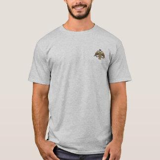 Byzantinisches Reich zwei ging Adler-Emblem-Shirt T-Shirt