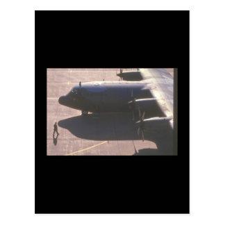 C-130 Herkules Transport_Military Flugzeuge Postkarten