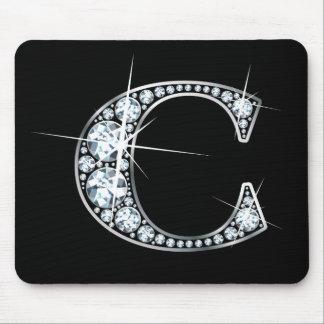 """C-"" Diamant Bling Mousepad"