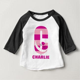 C ist für Cheshire-Katze, die | Ihren Namen Baby T-shirt