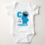 C ist für Plätzchen-Monster Babybody