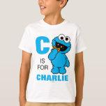 C ist für Plätzchen-Monster T-Shirt