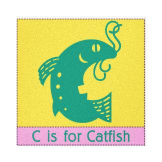 C ist für Wels Gespannte Galeriedrucke