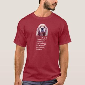 C.O.C.K.E.R. Persönlichkeits-T-Shirt T-Shirt