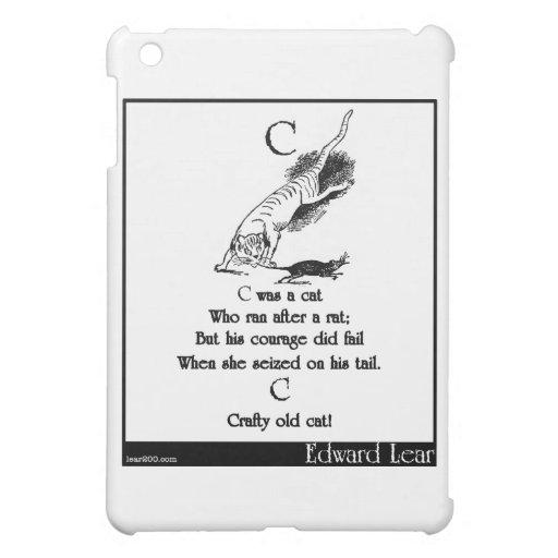 C war eine Katze iPad Mini Hülle