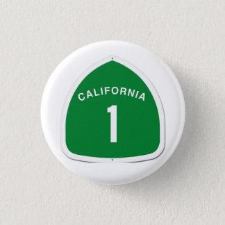 CA 1 Knopf Runder Button 2,5 Cm