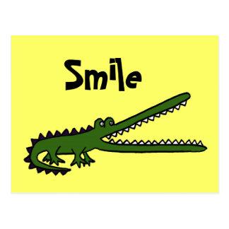 CA, lustige Croc Postkarte