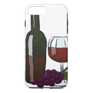 Cabernet-Sauvignon iPhone Fall iPhone 7 Plus Hülle