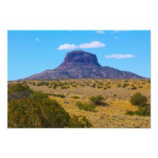 Cabezon Spitze, New Mexiko Fotodruck