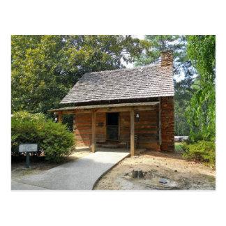 Cabin Antebellum Plantation Stone Doktors Berg Postkarte