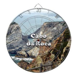 Cabo DA Roca: Portugal Dartscheibe