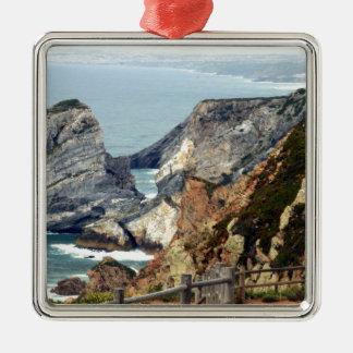 Cabo DA Roca, Portugal Silbernes Ornament