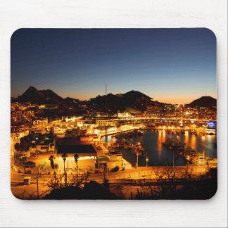 Cabo San Lucas Stadtbild am Sonnenuntergang, Mousepad