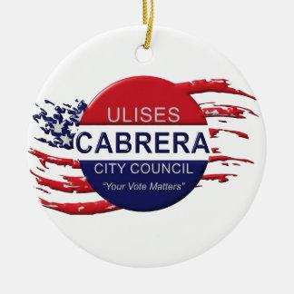 Cabrera für Stadtrat Keramik Ornament