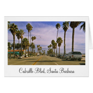"""Cabrillo Boulevard, Santa Barbara "" Karte"