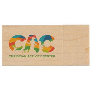 CAC Blitz-Antrieb Holz USB Stick 2.0