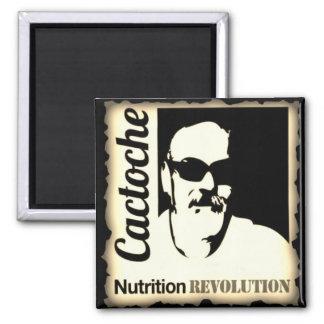 Cactoche Nahrungs-Revolution Quadratischer Magnet