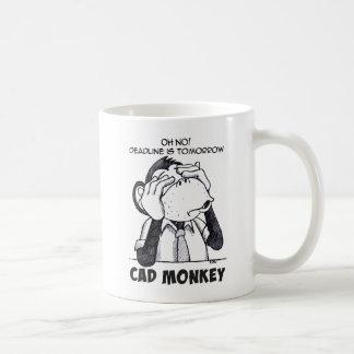 Cad-Affe sehen keine schlechte Kaffee-Tasse Kaffeetasse