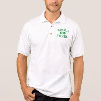 Caddo mahlt - Füchse - Hoch - Caddo Mühlen Texas Polo Shirt
