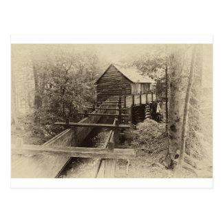Cades Bucht-Mahlgut-Mühle Postkarte