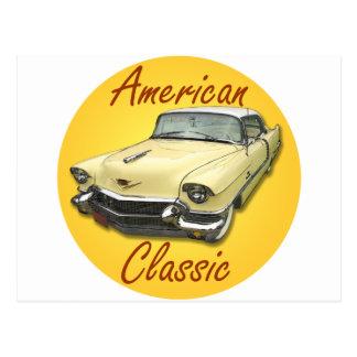 Cadillac 1956 DeVille Postkarte