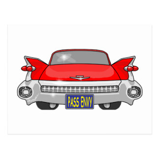 Cadillac 1959 postkarte