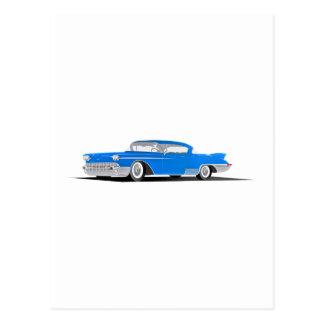Cadillac-EL 1958 Dorado Postkarte