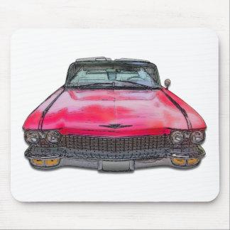Cadillac-Kabriolett 1960 Mauspad