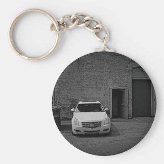 Cadillac-Kontrast Schlüsselanhänger