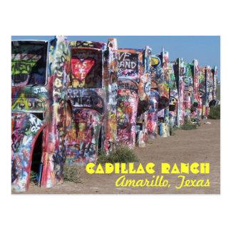 Cadillac-Ranch Postkarte