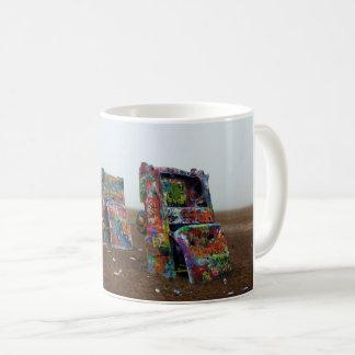 Cadillac-Ranchentwurfs-Tasse Kaffeetasse