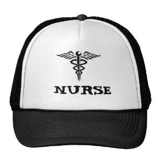 Caduceus-Krankenschwester-Hut Retrokult Cap