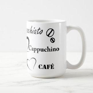 Café Cappuchino Macchiato Kaffeetasse