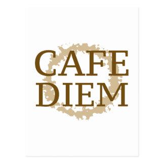Café Diem Postkarte