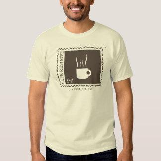Café-Flüchtlings-Logo-Shirt Hemden