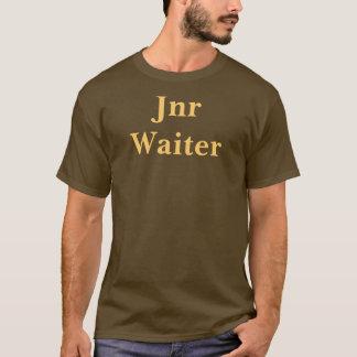 Café Jnr Kellner-T-Shirt. Brown und Mokka T-Shirt