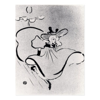 Café-Konzert durch Toulouse-Lautrec Postkarte