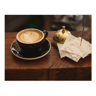 Café-Kultur Postkarte