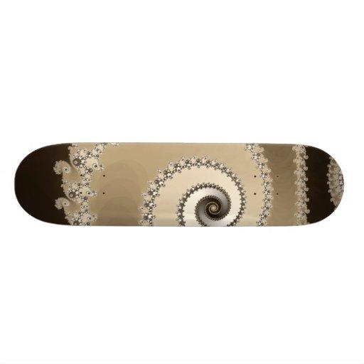 Café Latte Skateboard Personalisierte Decks