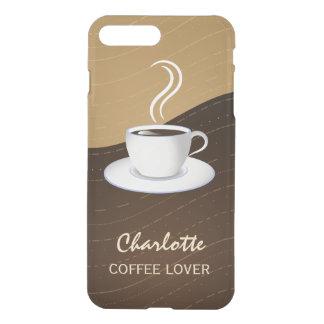 Café-Liebhaber cooler Kaffee und Creme bewegt iPhone 8 Plus/7 Plus Hülle
