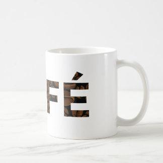 CAFÉ Logo-Kaffee-Tasse Tasse
