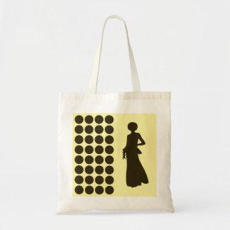Café Mokka-Creme-neutrale Punkt-Mode-Silhouette Taschen