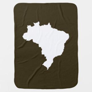 Café Mokka festliches Brasilien bei Emporio Moffa Babydecke