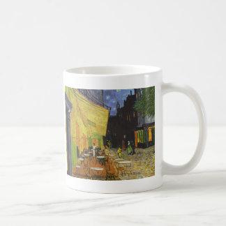 Café nachts durch Vincent van Gogh Tasse