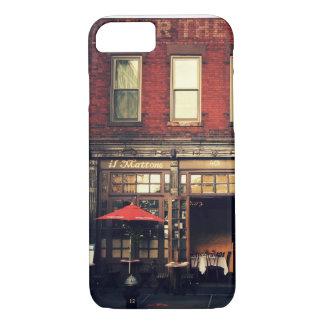 Café - New York City iPhone 8/7 Hülle