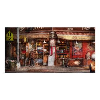 Café - NY - Chelsea - Tello Ristorante Fotokarten